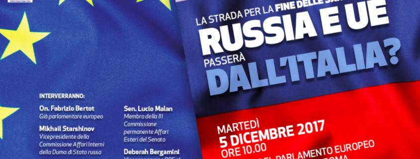Convegno sul valore dell'italia per la fine delle sanzioni tra Russia e UE - Fabrizio Bertot