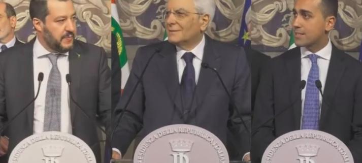 Come formare Governo salvini Di Maio Mattarella